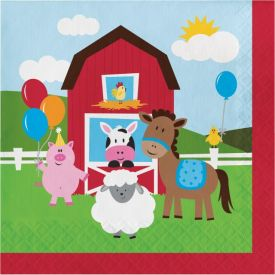 Farmhouse Fun Lunch Napkins, 2-Ply