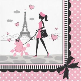 Party in Paris Lunch Napkins, 2-Ply