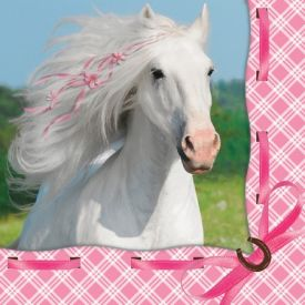 Heart My Horse Lunch Napkins, 3-Ply