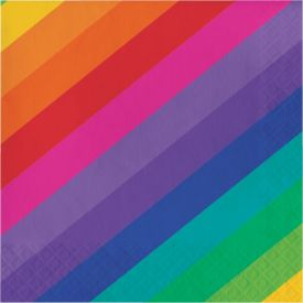 Rainbow Lunch Napkins, 3-Ply