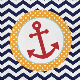 Ahoy Matey! Lunch Napkins 2-Ply Anchor