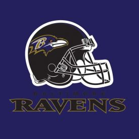 NFL Baltimore Ravens Lunch Napkins 2 ply