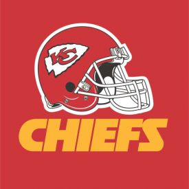 NFL Kansas City Chiefs Lunch Napkins, 2 ply