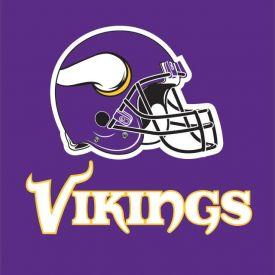 NFL Minnesota Vikings Lunch Napkins, 2 ply