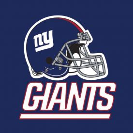 NFL New York Giants Lunch Napkins, 2 ply