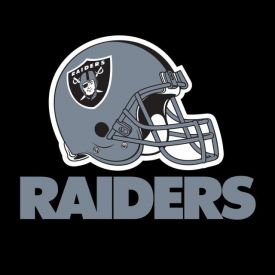 NFL Oakland Raiders Lunch Napkins, 2 ply