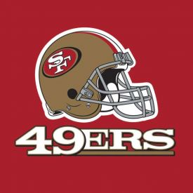 NFL San Francisco 49ers Lunch Napkins, 2 ply