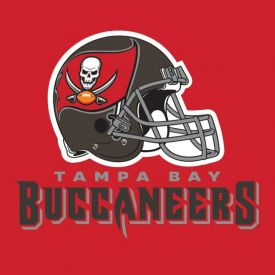 NFL Tampa Bay Buccaneers Lunch Napkins, 2 ply