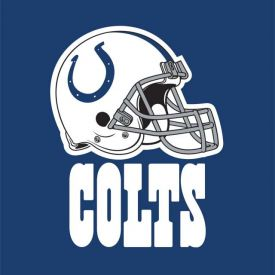 NFL Indianapolis Colts Lunch Napkins, 2 ply