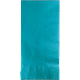 Bermuda Blue Dinner Napkins, 2-Ply, 1/8 Fold
