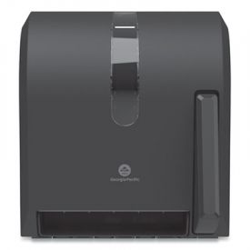 Georgia Pacific® Hygienic Push-Paddle Roll Towel Dispenser