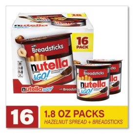 Nutella® & GO Hazelnut Spread and Breadsticks 1.8oz.