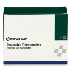 First Aid Only™ Disposable Forehead Thermometer Strip