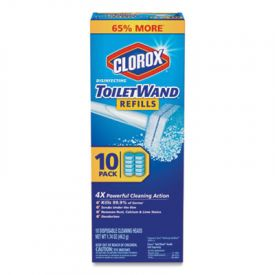 Clorox® Disinfecting ToiletWand™ Refills, Blue/White