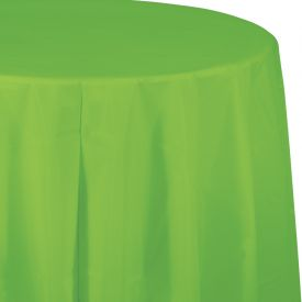 Fresh Lime Table Cover Plastic 82