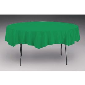Emerald Green Table Cover, Plastic 82