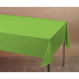 Fresh Lime Tissue/Poly Table  Cover 54