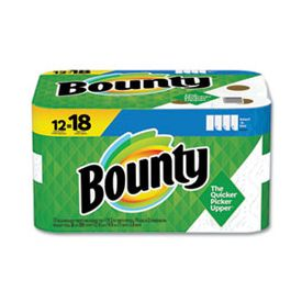Bounty® Select-a-Size Paper Towels, 2-Ply, White, 74 Sheets/Roll