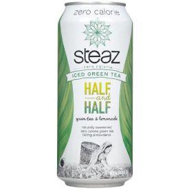 Steaz Zero Calorie Half & Half Green Organic Tea 16oz