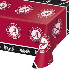 University of Alabama Table Covers Plastic 54