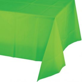 Fresh Lime Table Covers Plastic 54