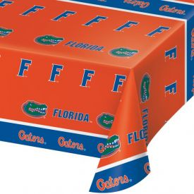 University of Florida Table Table Cover Plastic 54