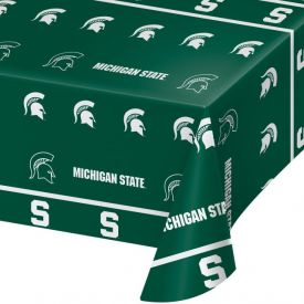 Michigan State University Table Covers Plastic 54