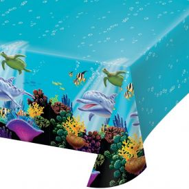 Ocean Party Table Cover Plastic 54