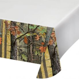 Hunting Camo Plastic Table Cover 54
