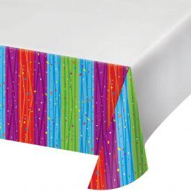 Milestone Celebrations Table Cover, Plastic 54
