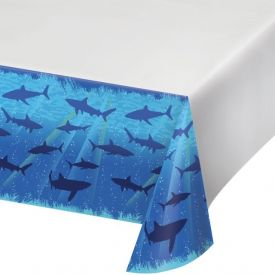 Shark Splash Table Cover Plastic 54