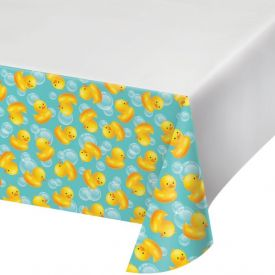 Bubble Bath Plastic Table Cover 54