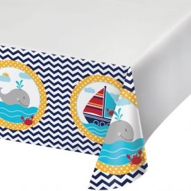 Ahoy Matey! Plastic Table Cover 54