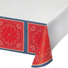 Bandanarama Table Cover, Plastic 54