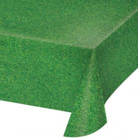 Grass Plastic Sports Table Cover 54
