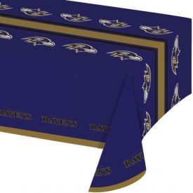 NFL Baltimore Ravens Plastic Table Covers 54
