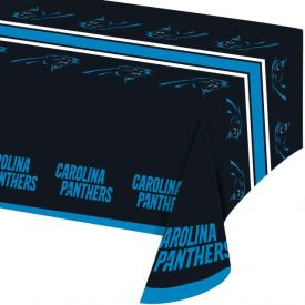 NFL Carolina Panthers Plastic Table Cover 54