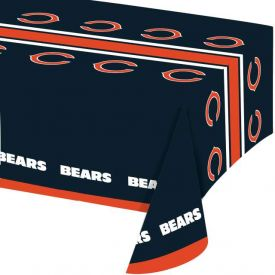NFL Chicago Bears Plastic Table Cover 54