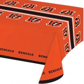 NFL Cincinnati Bengals Plastic Table Cover 54