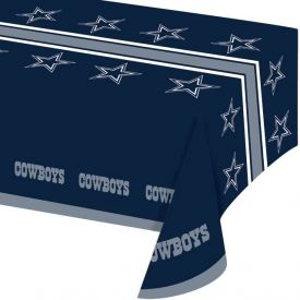 NFL Dallas Cowboys Plastic Table Covers 54