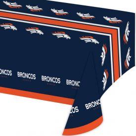NFL Denver Broncos Plastic Table Covers 54