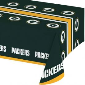 NFL Green Bay Packers Plastic Table Cover 54