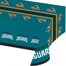 NFL Jacksonville Jaguars Plastic Table Cover 54