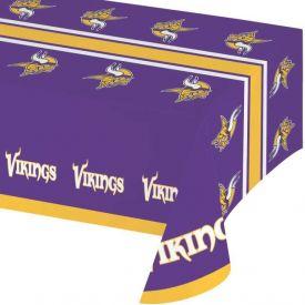 NFL Minnesota Vikings Plastic Table Cover 54