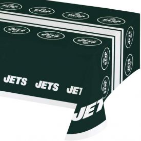 NFL New York Jets Plastic Table Cover 54