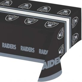 NFL Oakland Raiders Plastic Table Cover 54