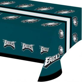 NFL Philadelphia Eagles Plastic Table Cover 54