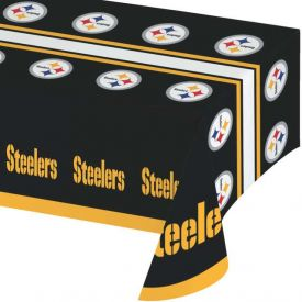 NFL Pittsburgh Steelers Plastic Table Cover 54
