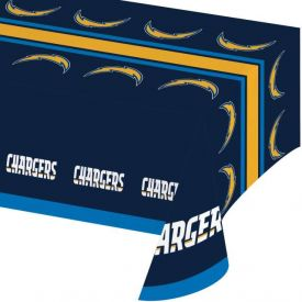 NFL Los Angeles Chargers Plastic Table Covers 54