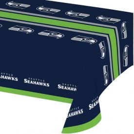 NFL Seattle Seahawks Plastic Table Cover 54